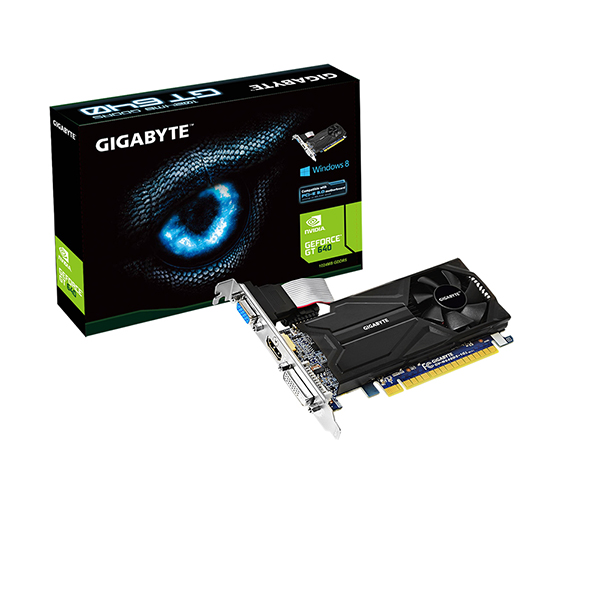 GPU GT 640 1GB DDR5 LOW PROFILE PCI-E GIGABYTE GV-N640D5-1GL