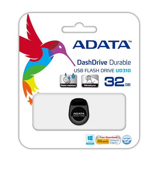 11640002 Pendrive Adata Ud310-32gb Preto - 11640002 -
