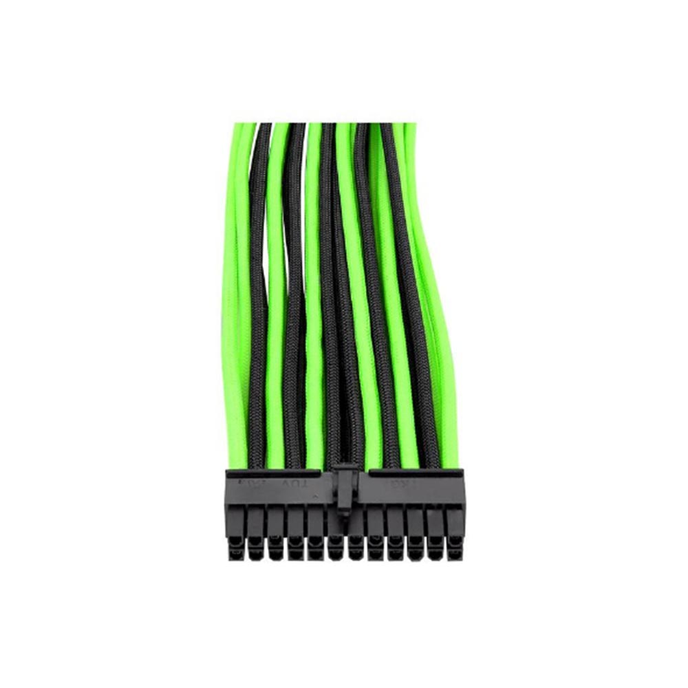 CABLE TT MOD SLEEVED CABLE/BLACK&GREEN/300MM/COMBO PK AC-034CN1NANA1*