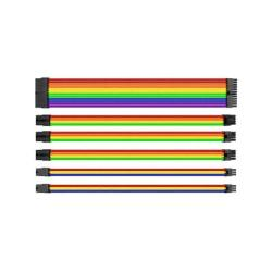 CABLE TT MOD SLEEVED CABLE/RAINBOW/300MM/COMBO PACK AC-049-CN1NAN-A1*