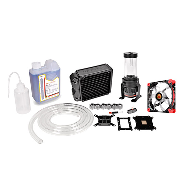 COOLER TT PACIFIC RL140 D5 WATER COOLING KIT 140MM CL-W072-CU00BL-A