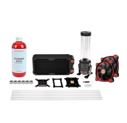 COOLER TT PACIFIC RL240 D5 HARD TUBE COOLING KIT CL-W128-CA12RE-A