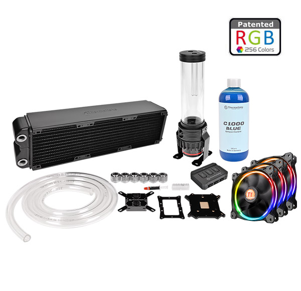 COOLER TT PACIFIC RL360 WATER COOLING KIT 360MM CL-W113-CA12SW-A