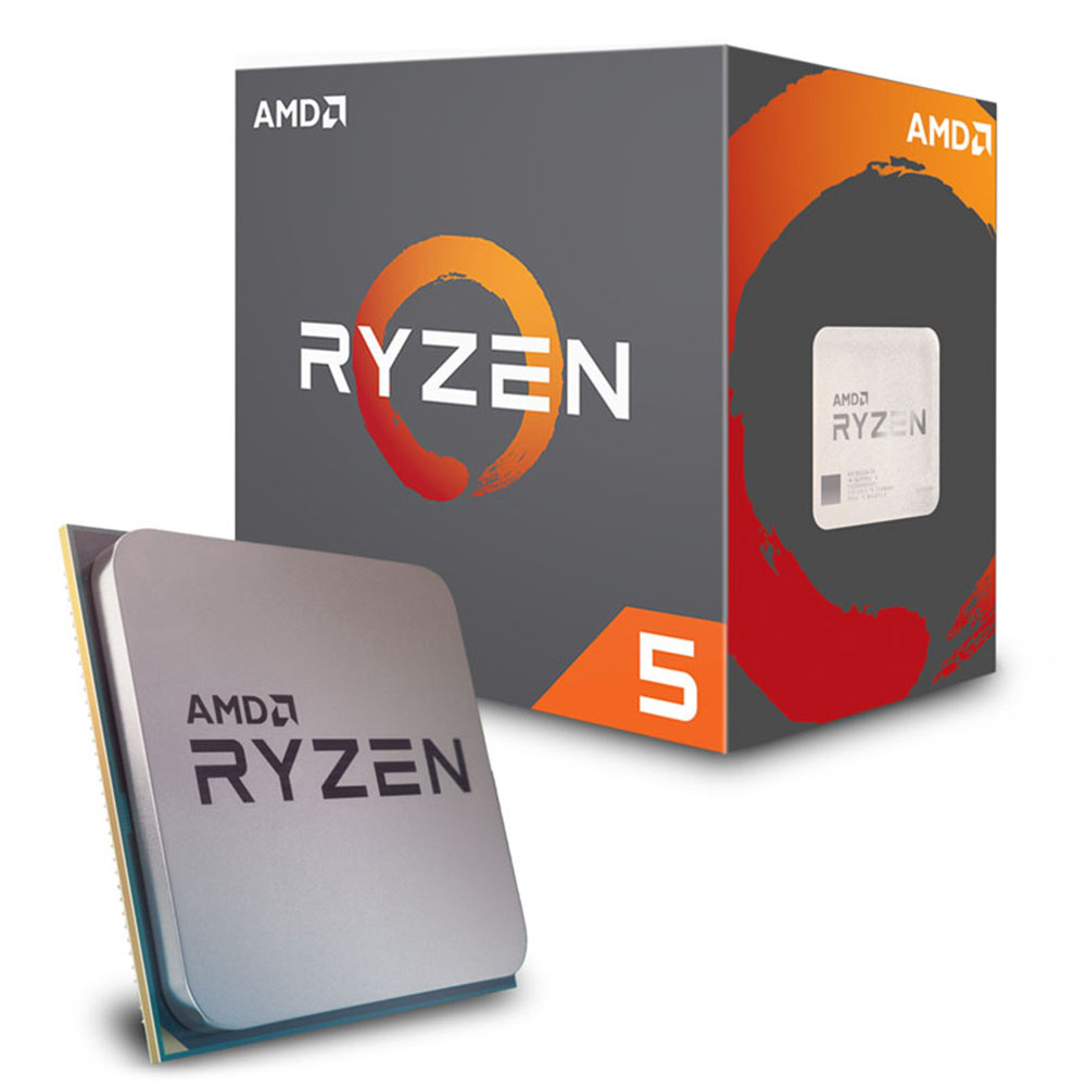 CPU AMD RYZEN 5 1600 3.2GHz / 3.6GHz SIX CORE AM4 YD1600BBAEBOX