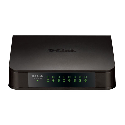 D-LINK SWITCH 16 PORTAS FAST ETHERNET DES-1016A