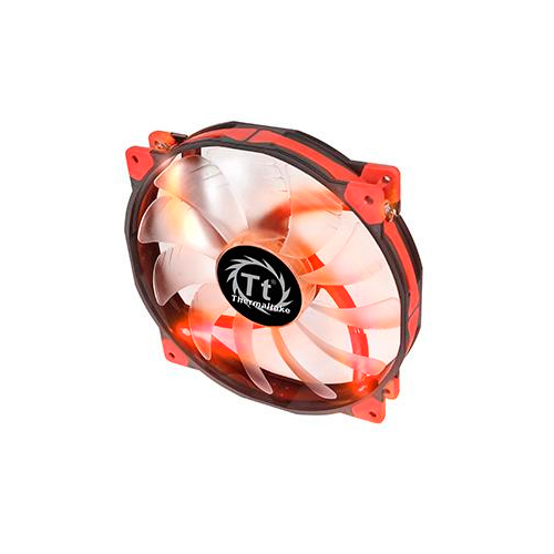 FAN TT LUNA 20 LED RED 800RPM CL-F025-PL20RE-A