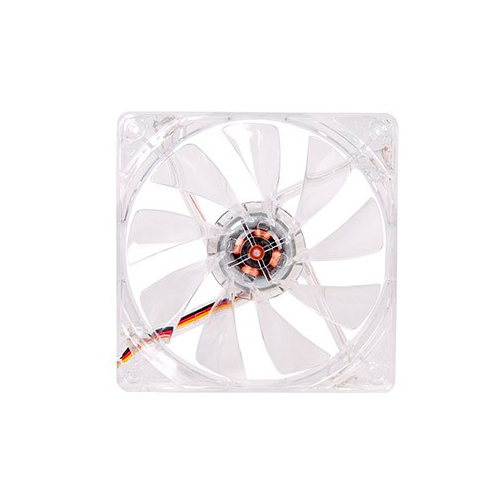 FAN TT PURE 12 TRANSPARENTE C/LED WHITE 1000RPM CL-F020-PL12WT-A
