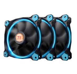 FAN TT RIING 12 LED RADIATOR BLUE 3 PACK CL-F055-PL12BU-A