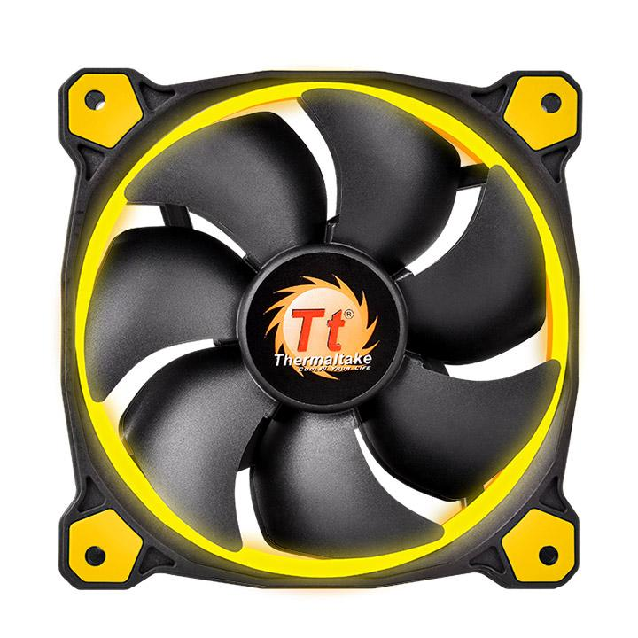 FAN TT RIING 12 LED RADIATOR FAN YELLOW CL-F038-PL12YL-A