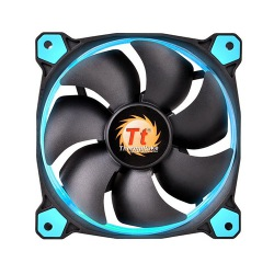 FAN TT RIING 12 RADIATOR FAN LED BLUE 1500RPM CL-F038-PL12BU-A