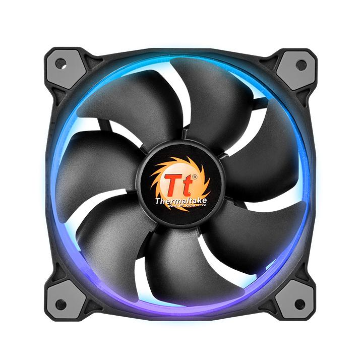 FAN TT RIING 14 RADIATOR FAN 256 COLOR C/3 LED SWITCH CL-F043-PL14SW-B