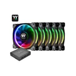 FAN TT RIING PLUS 14 RGB PREM. ED 5 PACK/LED SW CTRL CL-F057-PL14SW-A*