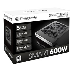 FONTE 600W TT SMART ATX2.3 A-PFC 80+WHITE PS-SPD-0600NPCWBZ-W