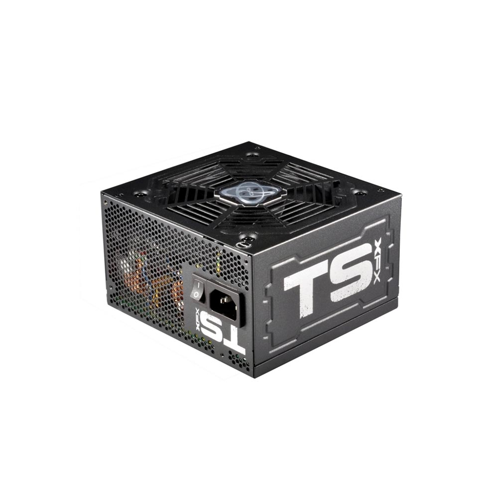 FONTE 650W XFX TS SERIES FULL WIRED 80+ GOLD P1-650G-TS3X
