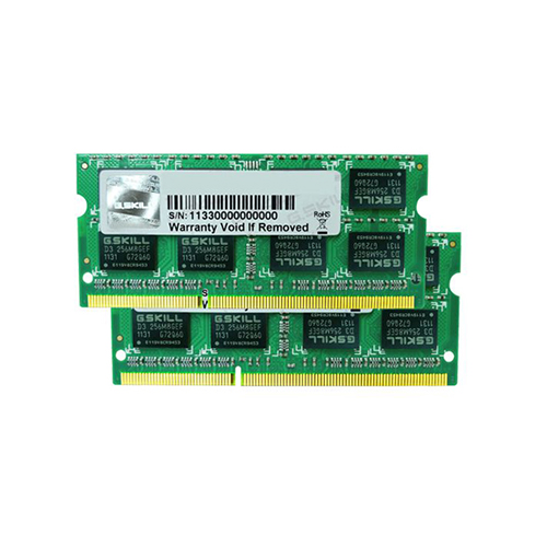 G.SKILL 4GB (2X2GB) 204P DDR3 1066 (PC3 8500) F3-8500CL7D-4GBSQ