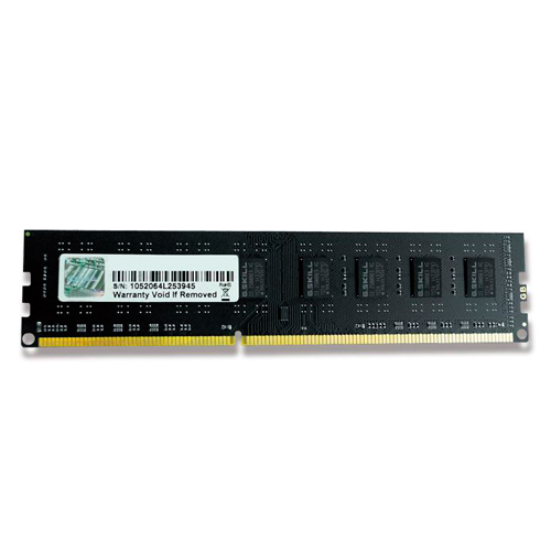G.SKILL VALUE 8GB (1X8GB) 240P DDR3 1600 (PC3 12800) F3-1600C11S-8GNT