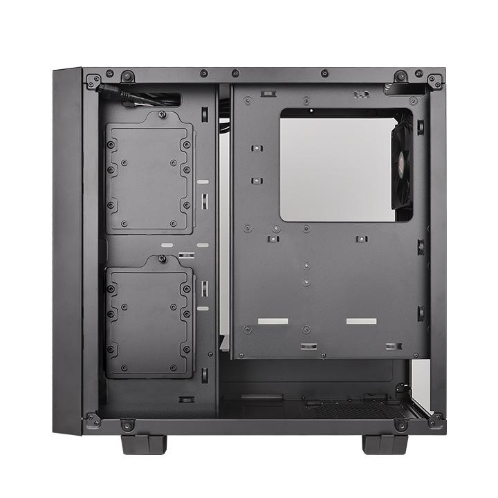 GABINETE TT CORE G21 TG BLACK/WIN/TEMPERED GLASS*2 CA-1I4-00M1WN-00