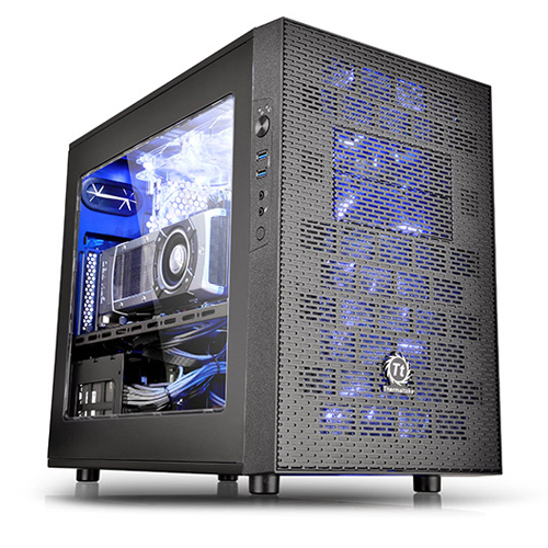 GABINETE TT CORE X1 BLACK/WIN/SECC CASE CA-1D6-00S1WN-00