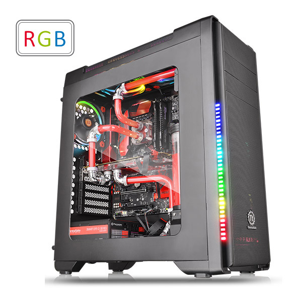 GABINETE TT VERSA C21 RGB BLACK/SPCC/WINDOW CA-1G8-00M1WN-00