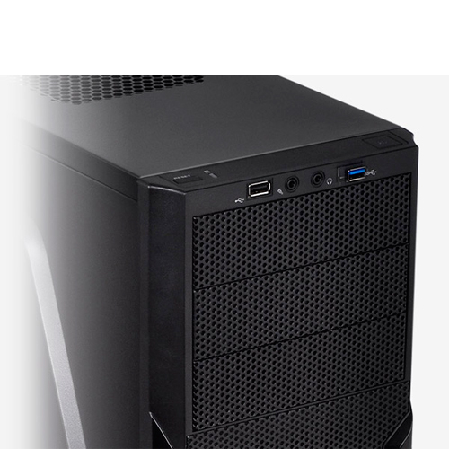 GABINETE TT VERSA H22 BLACK CASE W/WINDOW CA-1B3-00M1WN-00