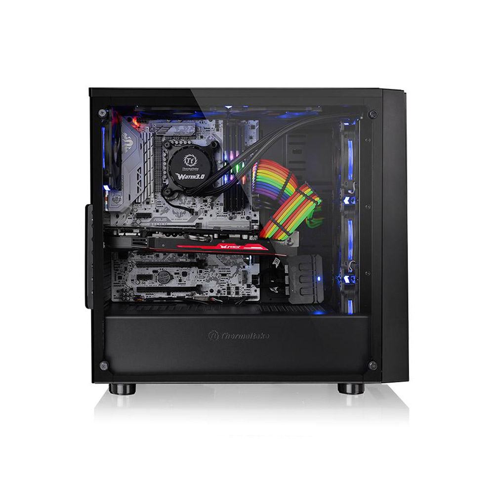 GABINETE TT VERSA J21 TG BLACK/WIN/TEMPERED GLASS*1 CA-1K1-00M1WN-00*
