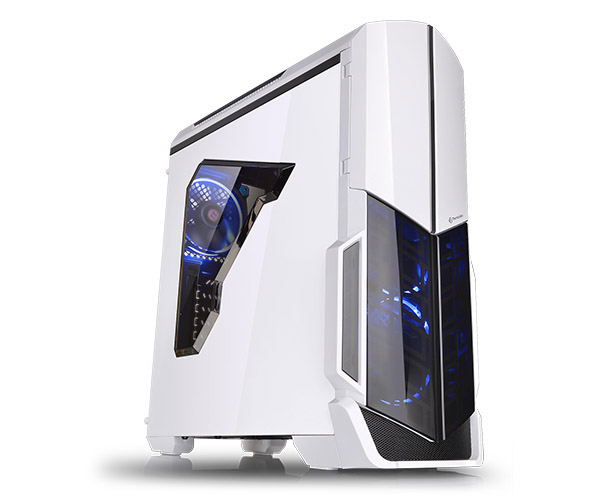 Gabinete Tt Versa N21 Snow Case With Window Sgcc Ca-1d9-00m6wn-00