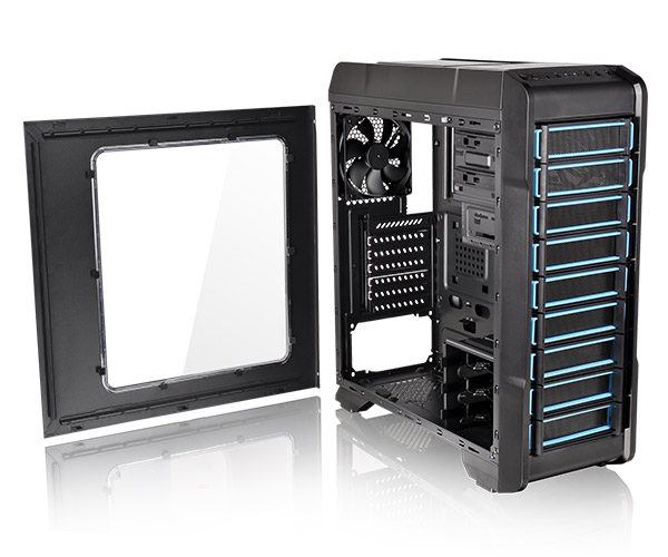 GABINETE TT VERSA N23 BLACK CASE/WINDOW/SGCC CA-1E2-00M1WN-00
