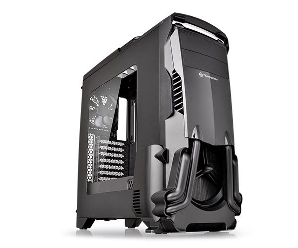 Gabinete Tt Versa N24 Black Case/window/sgcc Ca-1g1-00m1wn-00