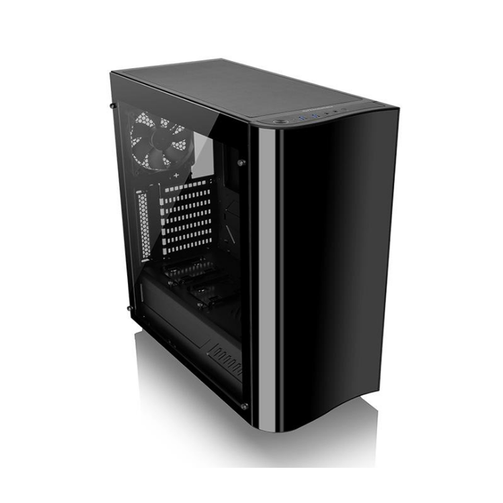 GABINETE TT VIEW 22 TG BLACK/TEMP. GLASS*1/WIN/SGCC  CA-1J3-00M1WN-00