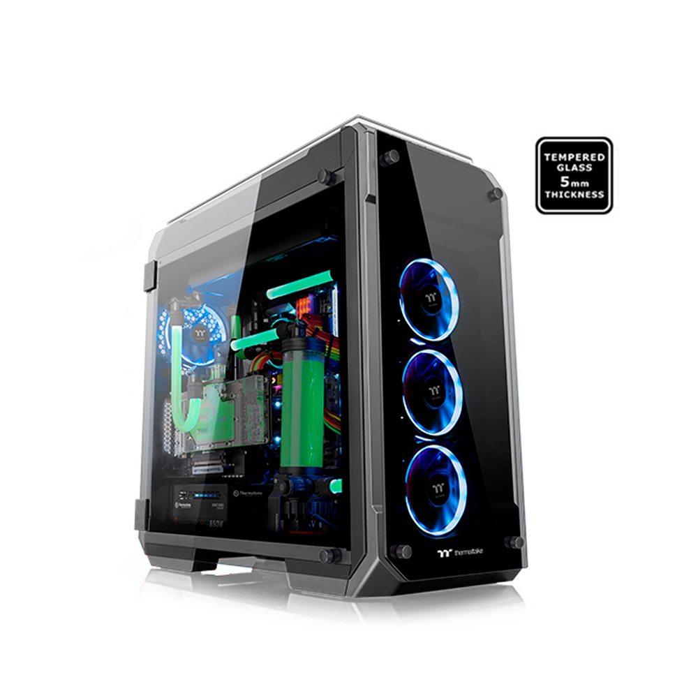 GABINETE TT VIEW 71 TG BLACK/WIN/TEMPERED GLASS*4 CA-1I7-00F1WN-00