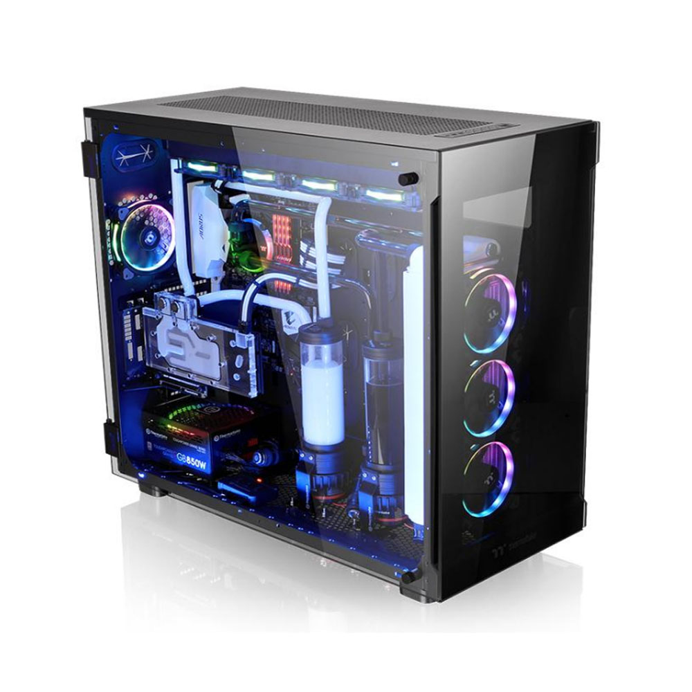 GABINETE TT VIEW 91 TG RGB BK/TEMP. GLASS*3/WIN/SGCC  CA-1I9-00F1WN-00