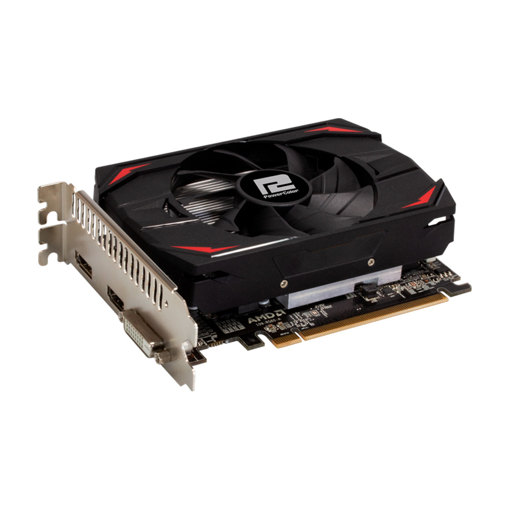 GPU AMD RX 550 2GB RED DRAGON POWER COLOR AXRX 550 2GBD5-DH