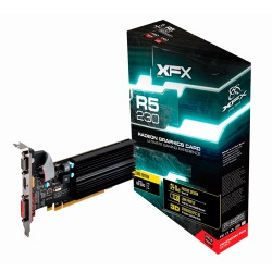 GPU R5 230 1GB DDR3 625M LOW PROFILE XFX R5230AZLH2