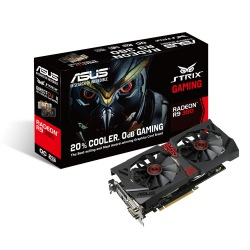 GPU R9 380 2GB STRIX GAMING DDR5 ASUS 90YV08D0-M0NA00