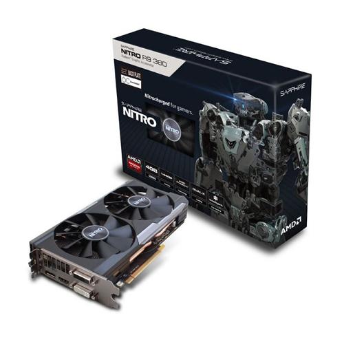 11242-13-20G Gpu R9 380 4gb Nitro Dual-x Oc Ddr5 Black Pla
