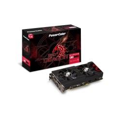 GPU RX 570 4GB RED DRAGON POWER COLOR AXRX 570 4GBD5-3DHD/OC