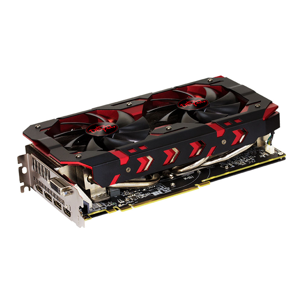 GPU RX 580 8GB RED DEVIL GOLDEN POWER COLOR AXRX580 8GBD5-3DHG/OC