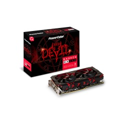 GPU AMD RX 580 8GB RED DEVIL POWER COLOR AXRX 580 8GBD5-3DH/OC