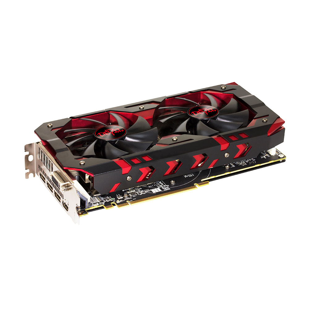 GPU RX 580 8GB RED DEVIL POWER COLOR AXRX 580 8GBD5-3DH/OC