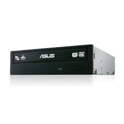 GRAVADOR DVD INTERNO 24X ASUS BLACK DRW-24F1MT/BLK/B/AS 90DD01V0-B3B00