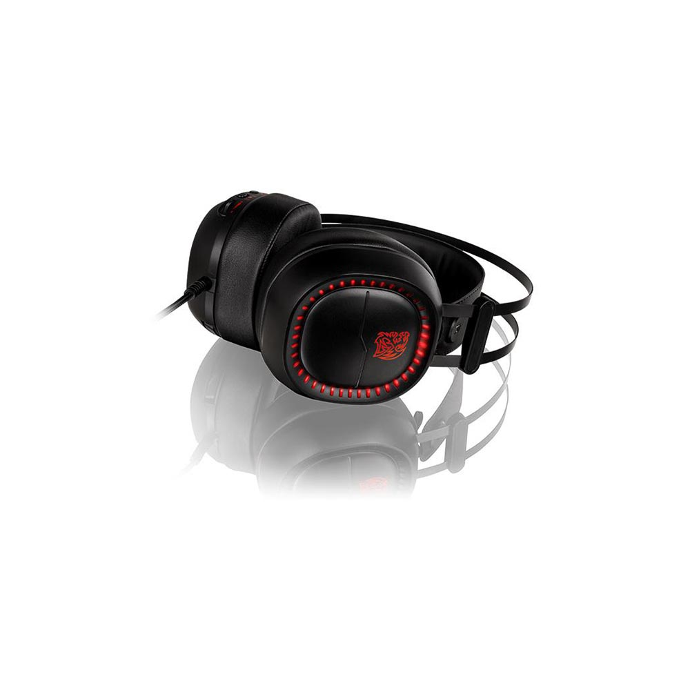 HEADSET TT SPORTS SHOCK PRO RGB/ANALOG/7 COLOR LED HT-HSE-ANECBK-23*