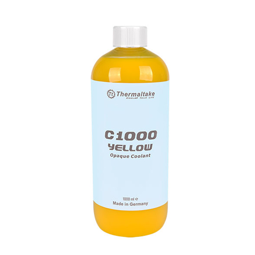 LIQUIDO TT UV COOLANT C1000 YELLOW OPAQUE/DIY LCS/1000ML CLW114OS00YEA