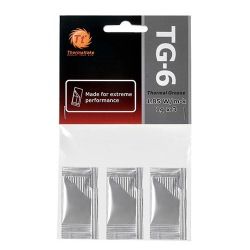 PASTA TERMICA TT TG6 THERMAL GREASE 3 PCTE/1GRAMA CL-O003-GROSGM-A