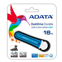 PENDRIVE ADATA S107-16GB-AZUL -  11570019 -  AS107-16G-RBL