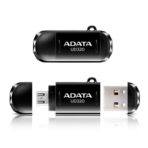 Pendrive Adata Ud320-32gb-preto - 11700001 - Aud320-32g-cbk