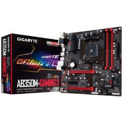 PLACA MÃE GIGABYTE B350 AMD AM4 GA-AB350M-GAMING 3
