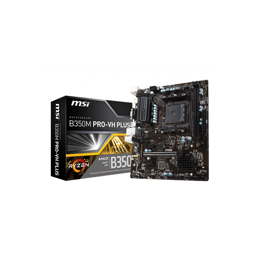 PLACA MÃE MSI B350M PRO-VH PLUS AMD RYZEN 7/SOCKET AM4 911-7B07-004