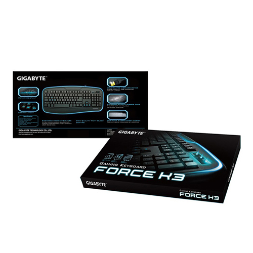 TECLADO GIGABYTE WIRED USB GAMING GK-FORCE K3  (PORTUGUES)