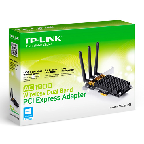 TP-LINK ADAPTADOR ARCHER T9E WIRELESS DUAL BAND AC1900