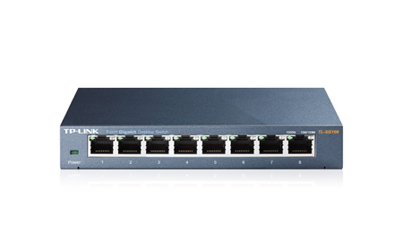 TP-LINK TL-SG108 SWITCH GIGABIT 8 PORTAS